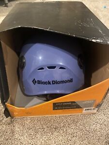 Black Diamond Half Dome Helmet Used EUC With Box Blue