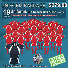 Uniform Arza Tennesee AR-6 Short Sleeve for Soccer. Package $ 279.00