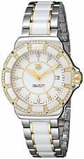 Tag Heuer Women's WAH1221.BB0865 Formula 1 Diamond Stainless Steel Ceramic Watch