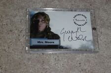 A16 SMALLVILLE AUTOGRAPH CARD GWYNYTH WALSH * MRS MOORE