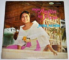 Philippines NORA AUNOR Mga Awitin Ng Puso OPM LP Record
