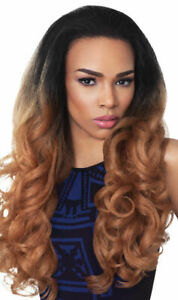 STUNNA - OUTRE QUICK WEAVE SYNTHETIC HALF WIG LONG CURLY