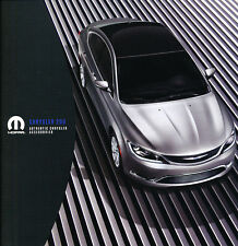 2015 2014 Chrysler 200 200S Original Car Accessories Mopar Brochure Catalog