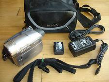 Sony Handycam DCR-HC96 Mini DV Camcorder Back Light Night Shot Ac Cable Battery