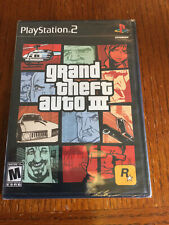 Grand Theft Auto Iii - Ps2 - Brand New Factory Sealed
