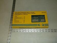 HI-TEC 66400 PROFESSIONAL POWER BIT SET (CHROME VANADIUM)