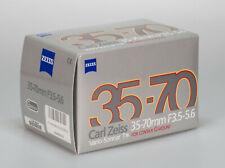 Carl Zeiss Vario-Sonnar 35-70mm 3.5-5.6 T* // Contax G G1 G2