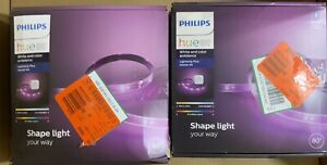 Philips Hue White and Color Ambiance LED Dimmable Light Strip w Dimmable Lor#483