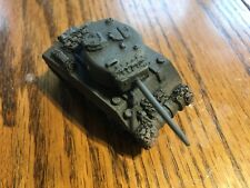 1/100th (15mm) WWII US Painted M4A3 Welded-Hull 76mm-Gunned Tank Model