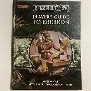 Player's Guide to Eberron (Dungeons & Dragons 3.5) 2006 Hard Cover RARE