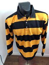 MENS Medium Rugby Jersey Kawasaki Black and Yellow