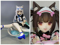 "Nekopara Chocolat Vanilla Soft Chest Figure Toy Premium Version. 9"" New Present"