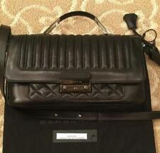 Barbara Bui Black Leather Handbag Floor Sample Authenticity Tag & Dustbag