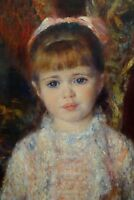 "perfect 24x36 oil painting handpainted on canvas""a girl""N14286"