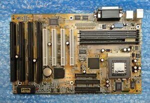 Gigabyte GA-586ATX4 REV 1.7 Socket 7 Motherboard 4 x ISA, 4 x PCI Slots and CPU