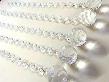 AD1- 5 Acrylic Diamante Crystal Chandelier Drops Candlabras Wedding Decoration