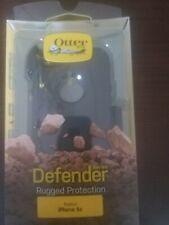 Otterbox Defensor Funda para IPHONE 5C con Clip Cinturón Negro Nuevo Auténtico