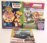 4 Nickelodeon Paw Patrol Coloring Activity Funtivity Sticker By Number Books etc
