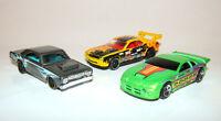 Hot Wheels DODGE CARS Lot, 68 DART, NEON and Challenger Drift Diecast Toys