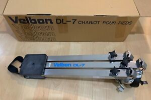 VELBON DL-7 TRIPOD DOLLY ALUMINUM MADE IN JAPAN