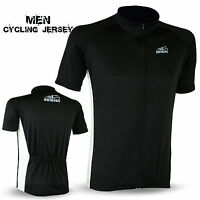 Mens Cycling Jersey Short Half Sleeve Top Outdoors Sports Biking Shirt S to XL