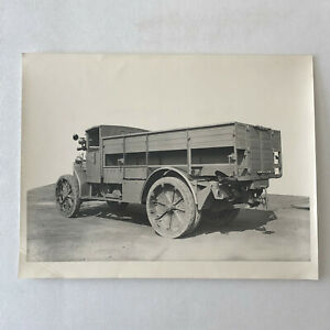 Vintage 1920 Breda 32 Military Long Tractor Truck Photo Photograph
