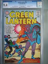 Green Lantern #37 CGC 9.4 DC Comics 1965 1st app Evil Star (Guy Pompton)