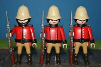Britische  Soldaten  TOP Zustand Uniform    Custom    Playmobil  XX1