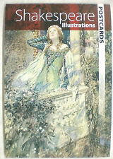 Dover SHAKESPEARE  Postcards 2012 12 full-color ready-to-mail