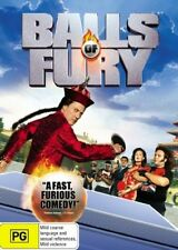 BALLS OF FURY DVD Christopher Walken Maggie Q COMEDY (Sealed) R4