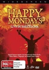 Happy Mondays - Live in Barcelona (DVD, 2007) R4