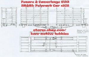 LMH Funaro F&C 6193 HOn2-1/2 HOn30 SRRL Sandy River Rangeley Lake PULPRACK 2-CAR