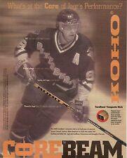 Jaromir Jagr--1997 Koho Hockey Sticks Advertisement--Pittsburgh Penguins