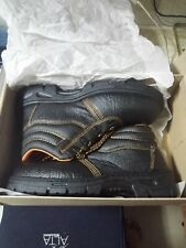 Dutch Maritime Safety Shoes (Steel Toe) NEW! | Size 8 | Black