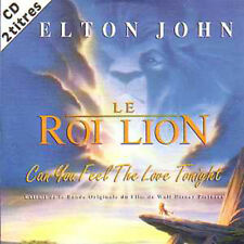CD single Elton JOHN Disney Can you feel the love tonight 2-track CARD SLEEVE