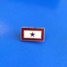 Vintage Sterling Silver United States Army WWII Military Hat/Uniform Antique Pin