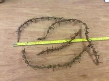WW 1 Somme relic German barbed wire.