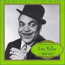 His Best Recordings 1928-1942 by Fats Waller (CD, Best of Jazz (France))