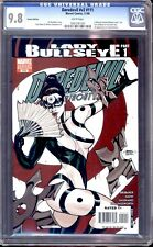 DAREDEVIL  #111 VARIANT COVER CGC 9.8 WHITE PAGES 1ST APP. OF LADY BULLSEYE!