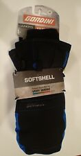 Juniors Youth Boys Black / Blue GORDINI AQUA BLOC SNOW SKI GLOVES SIZE M
