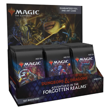 Magic the Gathering Adventures in the Forgotten Realms Set Booster Box NEW