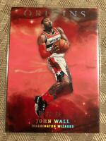 John Wall 2019-20 Panini Origins RED PINK Washington Wizards SP Insert #D 30/35