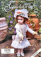 Gildebrief 4/1999 Dollmaking Antique  Dress Patterns Jumeau, Hilda's Sister