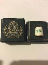 Herend Handpainted 150th Anniversary floral thimble
