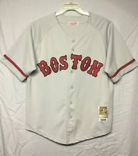MLB Boston Red Sox Pedro Martinez Mitchell & Ness Jersey Adult Size XL