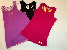 *Lot* Under Armour/Adida 00004000 s Tennis Running Athletic Shirts Youth Girls Size S