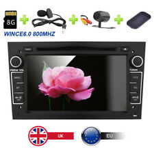 "Black 7"" In Car DVD Player Stereo GPS CANBUS Opel Vauxhall Vivaro/Astra H/Corsa"