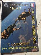 Calendario 2012 Incursori Esercito Forze Armate 9° Rgt Assalto Col Moschin Pisa