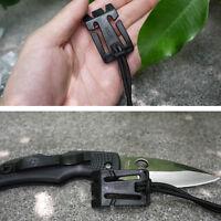 2pcs Dominator cordon élastique accrocher boucle clip Pals molle style sangle