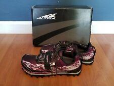 ALTRA Womens King MT Grey-Magenta Trail Running Spartan OCR race ready! Mint!